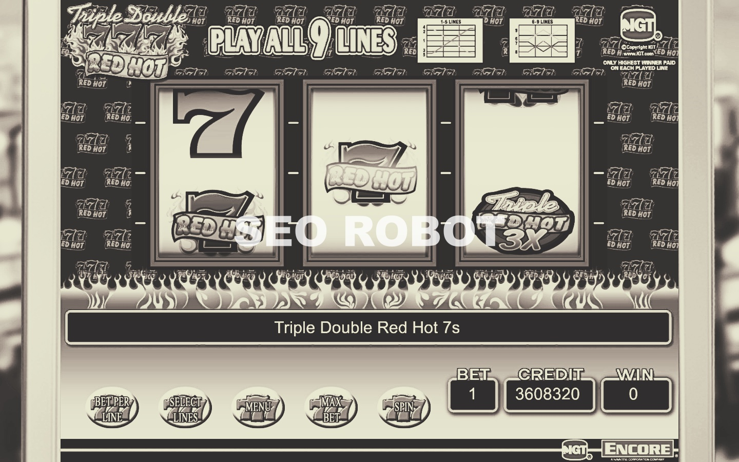 Trick Pattern Combination Symbols Online Indonesian Slot Machines Gambling